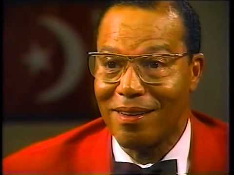 (Classic Interview) Minister louis Farrakhan RIPS Mike Wallace a new A--Hole