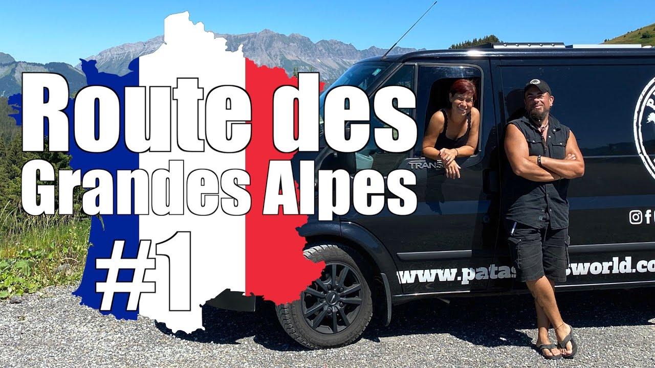 Der Road Trip über die Französischen Alpen bis ans Mittelmeer   Route des Grandes Alpes #1