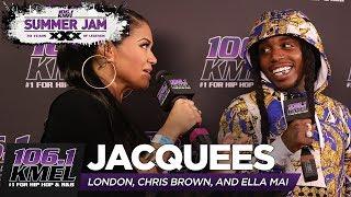 Jacquees Sings Trip Acapella + talks Ella Mai Controversy!