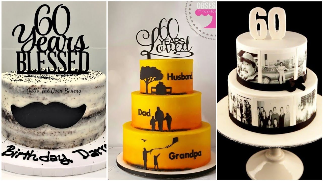 60th Birthday Special Cake Design Ideas For Men Crazy About Fashion Youtube