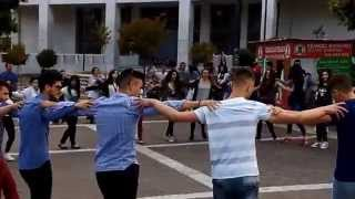 Sirtaki dance in Xanthi's Central Square