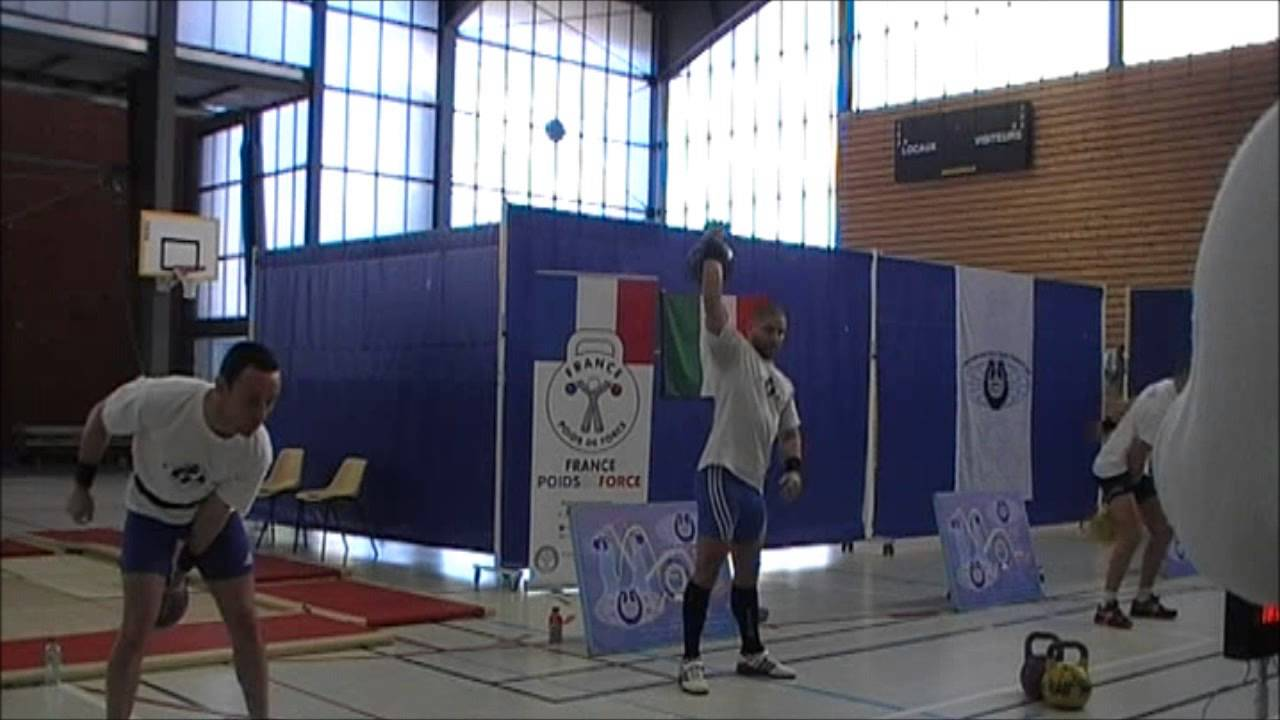 First Internationnal Trophy of kettlebell lifting and juggling (23/02/14)