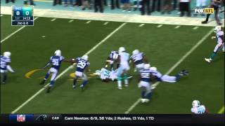 Jarvis Landry 14-yard Catch & Great Escape!   Colts vs. Dolphins   NFL