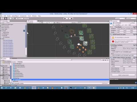 Game Development with Unity 2D - part 3: GUI, or No Text is