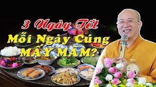 Thầy Thích Trúc Thái Minh Giải Đáp Thắc Mắc Của Phật tử Về Việc CÚNG ÔNG BÀ TỔ TIÊN 3 NGÀY TẾT 2020