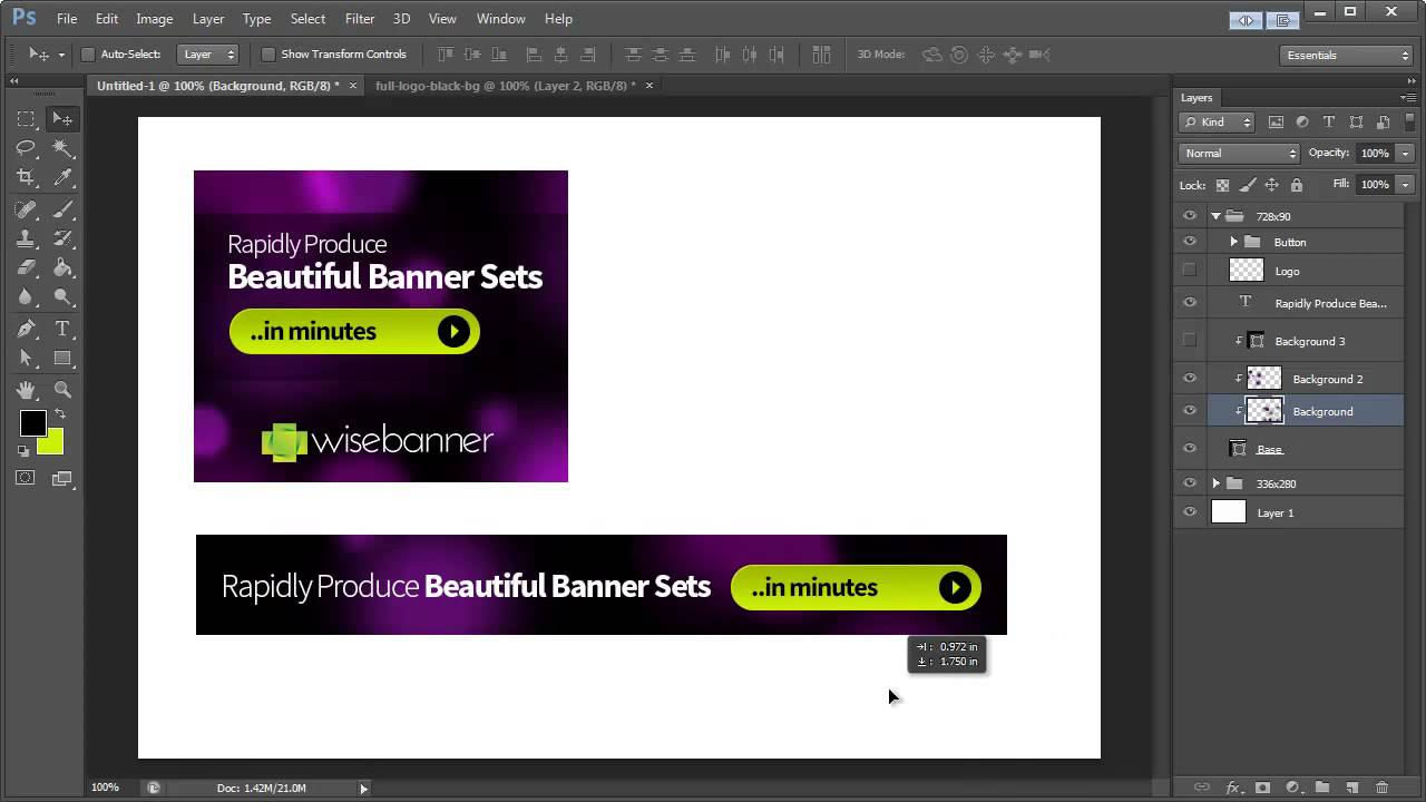 banner design in photoshop cs6  youtube