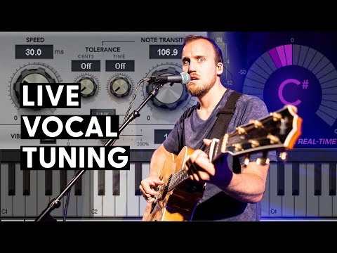 How To Set Up Live Auto-Tune For Worship Vocals