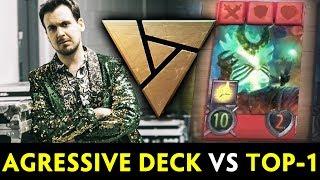 Gambar cover Aggressive DECK vs TOP-1 Artifact dev Bruno — PAX 2018