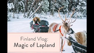 Finland Travel Vlog: Magic of Lapland