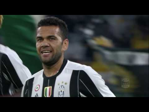 Il gol di Dani Alves - Juventus - Cagliari - 4-0 - Giornata 5 - Serie A TIM 2016/17