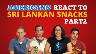 Americans React to Sri Lankan Food