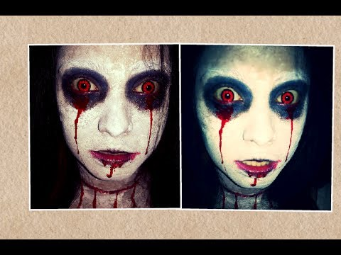 Very easy Bloody Mary Halloween makeup tutorial. - YouTube