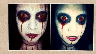 Very Easy Bloody Mary Halloween Makeup Tutorial.