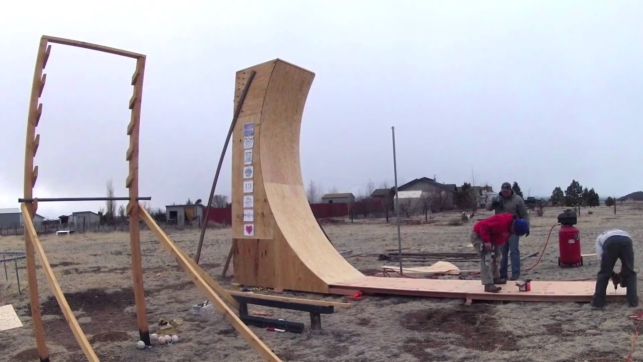 Warped Wall Construction