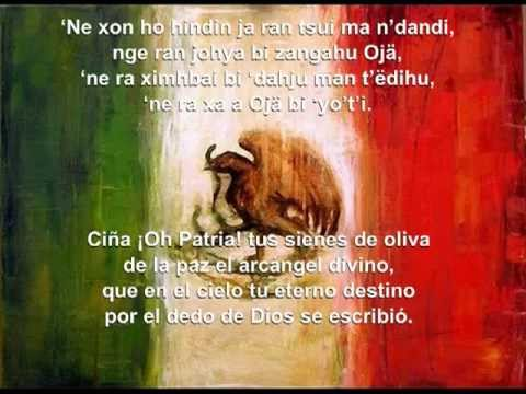 Himno Nacional Mexicano en Otomí - YouTube