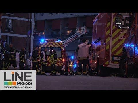 Explosion d'un bar par une attaque aux cocktails Molotov / Aubervilliers (93) - France 11 juin 2017