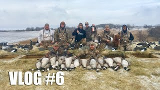 Epic Late Season Goose Hunt | Double Banded 💍 💍  | Gould Brothers VLOG