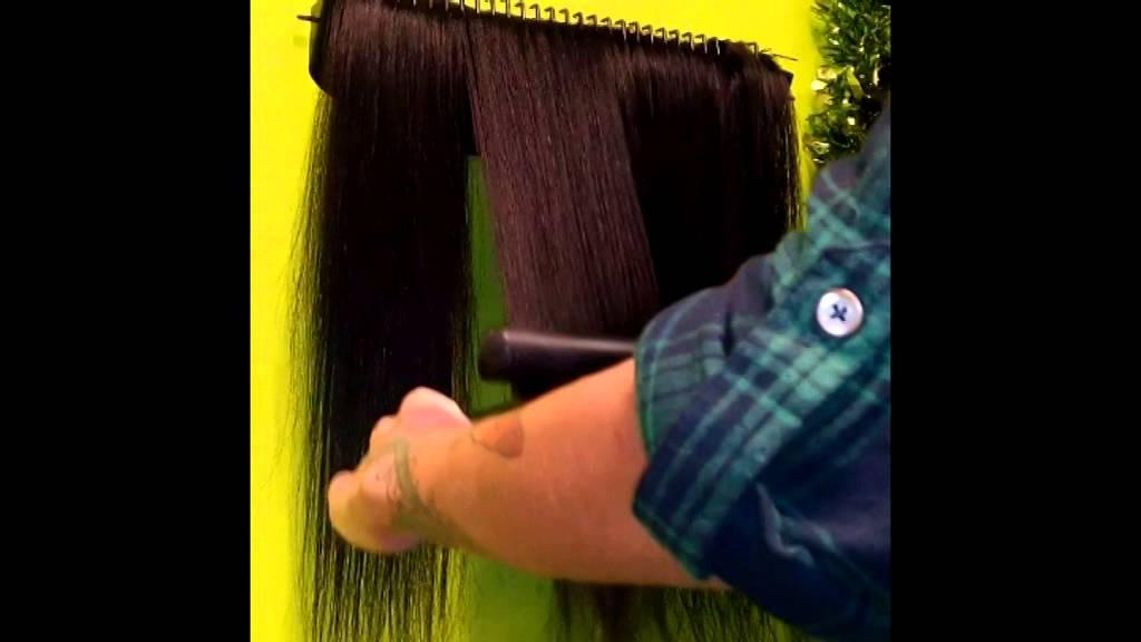 Hair Extension Holder Tutorial Youtube