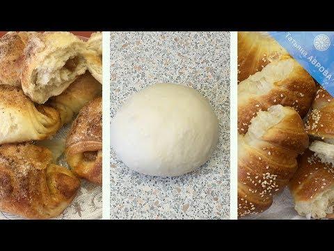 Сдобное тесто на густой закваске 50% влажности для сладкой и несладкой выпечки