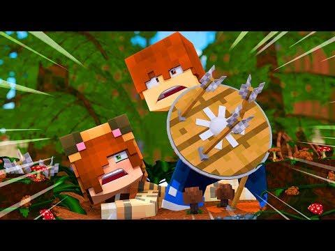 Minecraft Dragons - TINA'S HERO !? (Minecraft Roleplay)