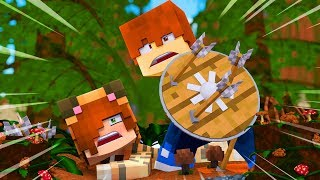 Minecraft Dragons - TINA'S HERO !? (Minecraft Roleplay - Episode 2)