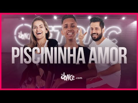 Piscininha amor - Whadi Gama  FitDance TV Coreografia Dance