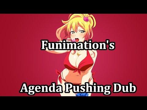Funimation's Hajimete no Gal Dub Flub