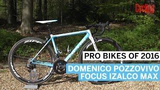 Pro Bikes of 2016: Domenico Pozzovivo's Focus Izalco Max