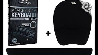 TKL Ergonomic Mousepad and Keyboard Wrist Rest Video Review