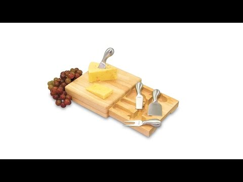 Festiva Cheese Board Set - Branded Wine & Cheese Gifts by Promotions Now