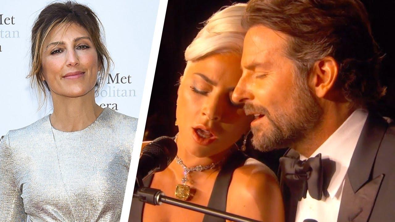 Bradley Coopers Ex-Frau reagiert mit Lady Gaga auf seine dampfenden Oscars + video