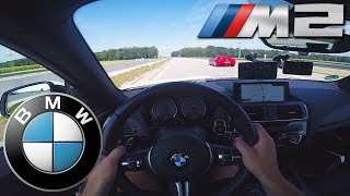 BMW M2 (370Hp) TOP SPEED on German Autobahn✔