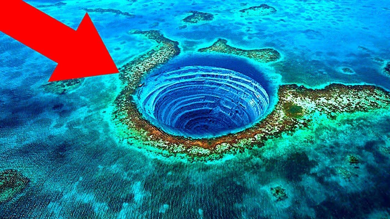 Что Внутри Самой Глубокой Голубой Дыры в Мире