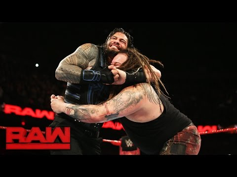 Roman Reigns vs. Bray Wyatt: Raw, May 22, 2017
