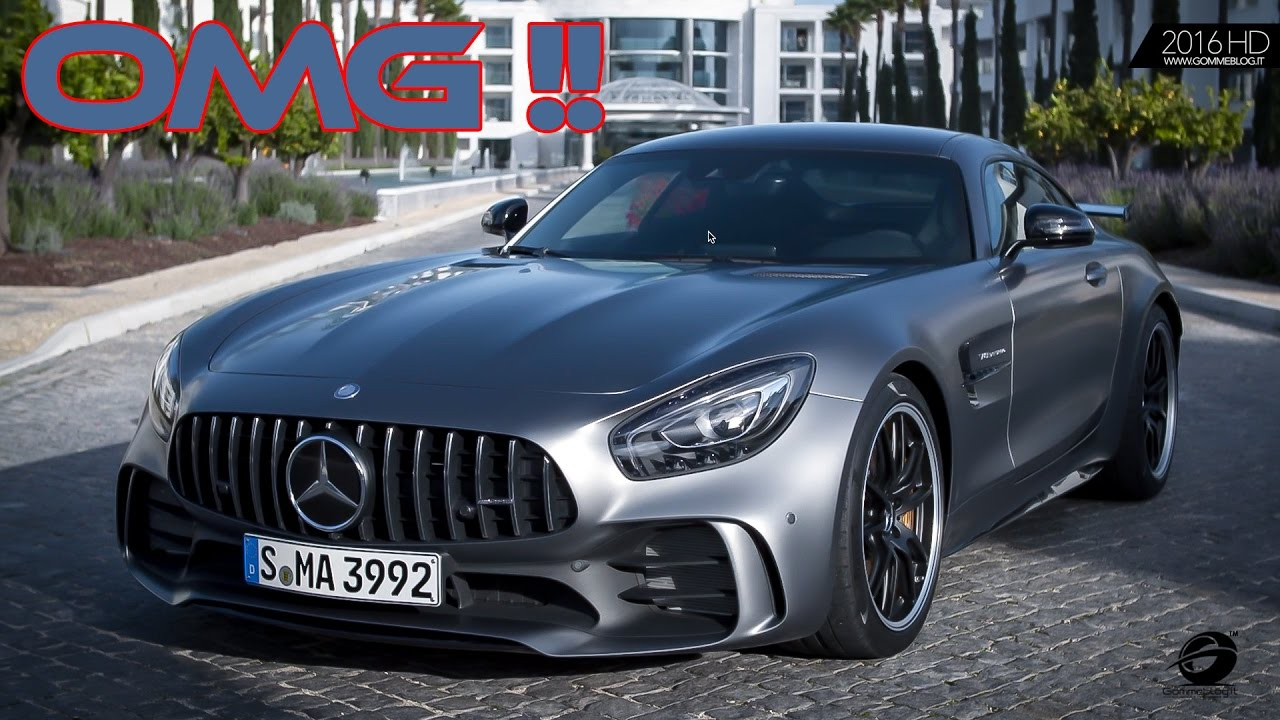 Mercedes Amg Gt R Designo Selenite Grey Magno What A