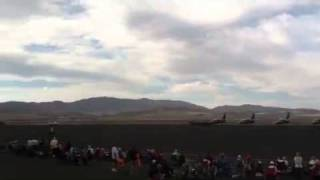 Airplane crash at Reno air races 2011 Friday sept 16 4:30 - 5pm