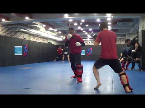 Korean Zombie MMA Dan The Wolfman vs KZ sparring Rds 1-4 Diaz 52 Systema
