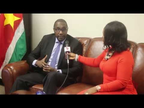 Africa Connect interview with Ambassador Henry McDonald