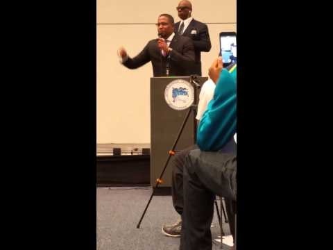Malik Z. Shabazz speaks at S.C. Town Hall Meeting and evidentiary hearing on 19 Apr 2015 (Part 2)