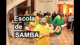 Show Bateria de Escola de Samba para Eventos Corporativos, Feiras, Festas de final de ano