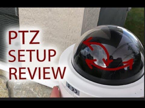 HIKVISION PTZ Mini Dome Security Camera Setup & Review