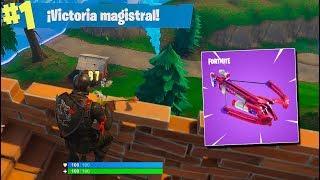 ÚLTIMA KILL a BALLESTA! Fortnite: Battle Royale