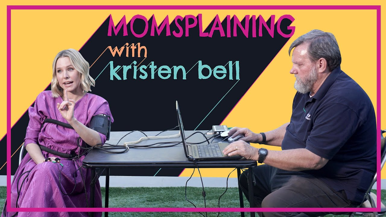 #Momsplaining with Kristen Bell: Getting Honest with Your Kids