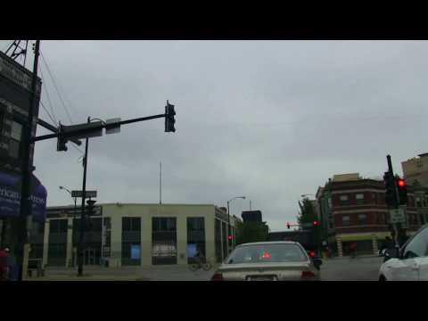 CRUIZIN' CHICAGOLAND * BELMONT AVE EAST TO LAKE MICHIGAN * ENJOY THE RIDE! 2013