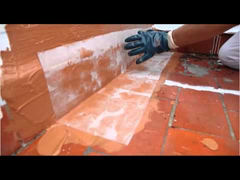 Impermeabilizaci n de una terraza youtube for Precio mano de obra colocacion tela asfaltica