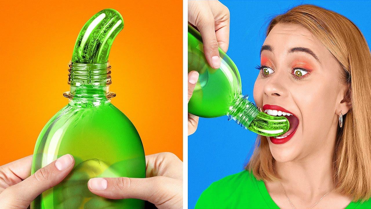 VIRAL TikTok FOOD TRICKS AND PRENKS || Crazy DIY Food Tricks by 123 GO! GOLD