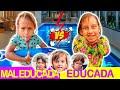 Criança Mal Educada VS Criança Educada no Parquinho e na Piscina (Part. Especiais) - MC Divertida