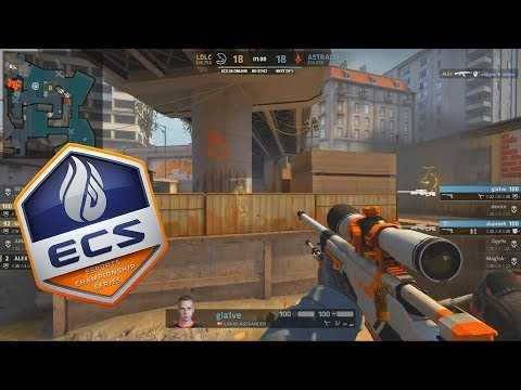 ECS S6 - Astralis vs LDLC - THIS IS MADNESS!! - Highlights - CS:GO