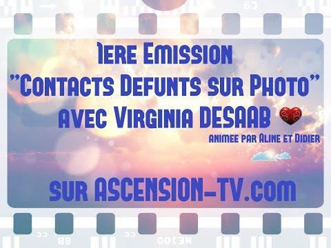 """[BANDE-ANNONCE] 1ère émission : """"Contacts Défunts sur Photo"""" avec Virginia DESAAB"""