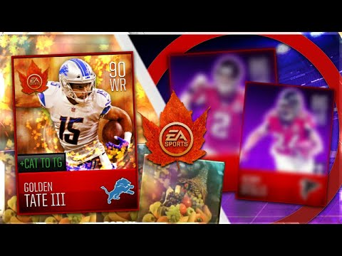 Madden mobile 18 thanksgiving promo